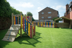 Play Area with Artificial Grass