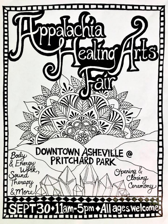 The Appalachia Healing Arts Fair!