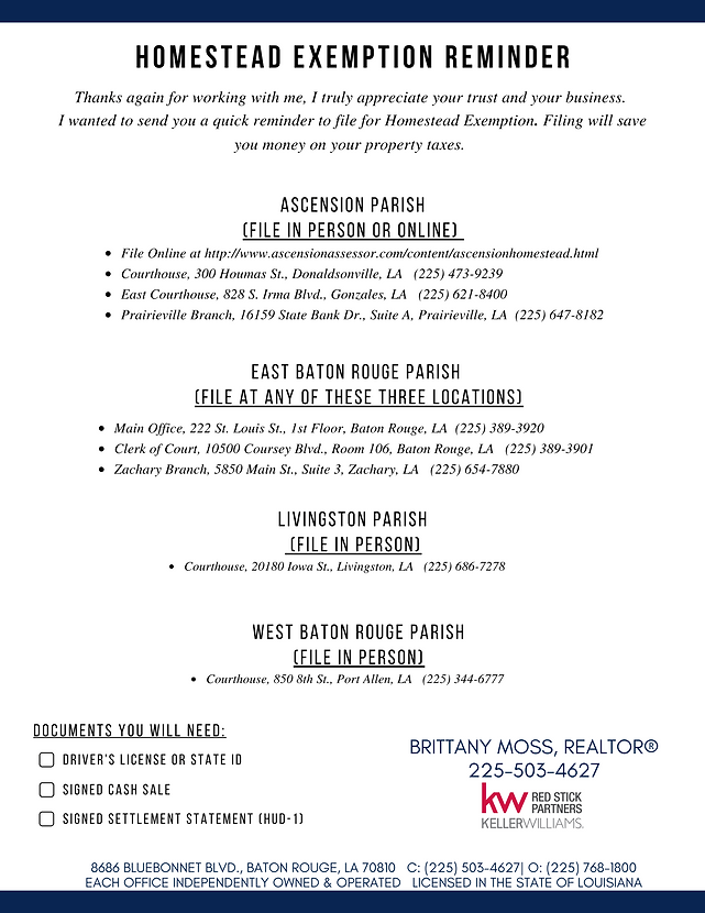 Homestead Exemption Reminder - Brittany Moss.png
