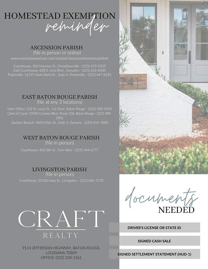 Homestead Exemption Reminder - Craft Realty.png