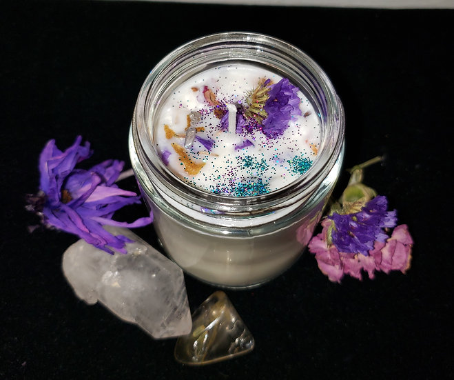 Lavender Unicorn Candle