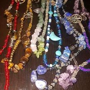Chakra Healing Crystal Waist Beads