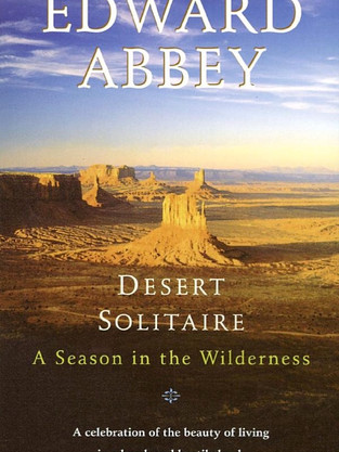 Desert Solitude by Edward Abbey