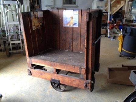 Towsley Cincinnati Warehouse Cart early 1940's