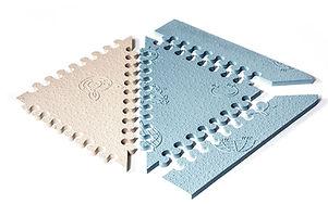 alfombra sistema puzzle