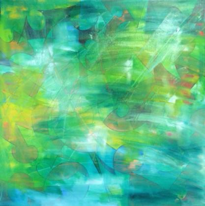 Green Skyscape  $486