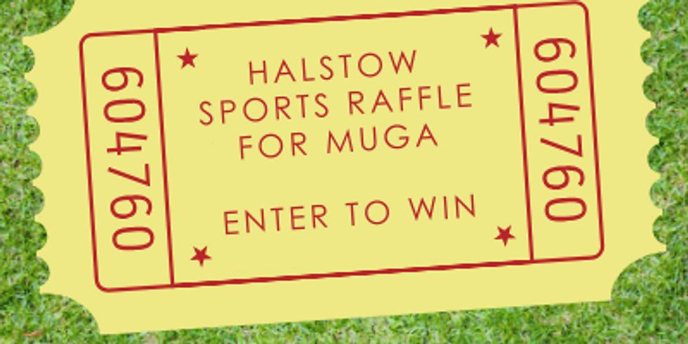 Halstow Sports Raffle for MUGA