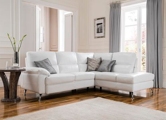 White Corner Sofa