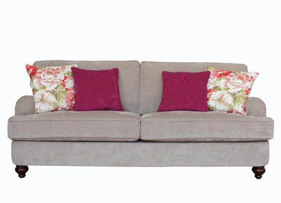 Two-seater Sherlock fabric sofa
