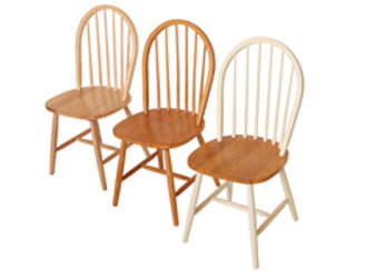 Windsor Dining Chair-Natural