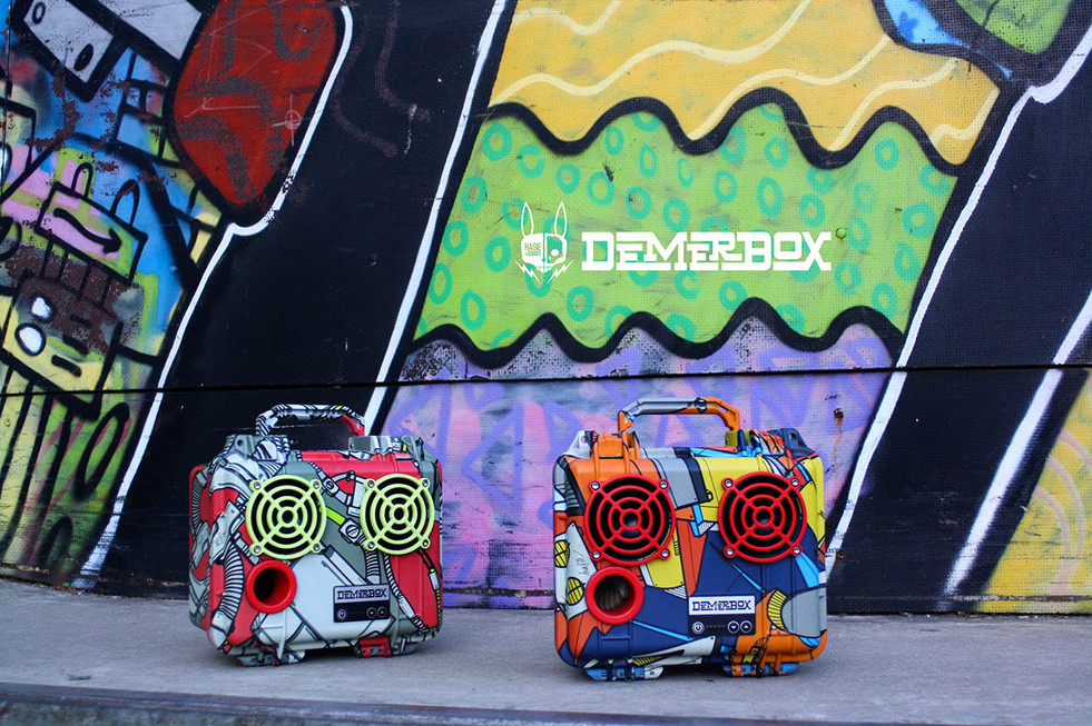 DemerBox / Hasie & The Robots Limited Collaboration