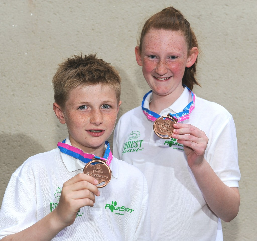 Aquasprints Final 2014 Medals