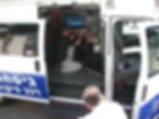 control car with cctv system haifa