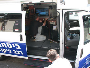 control car with cctv system haifa