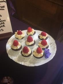 Mini Raspberry Cupcakes