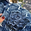 Thumbnail: Giacchino cotone trapuntato azzurro con spilla jeans