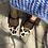 Thumbnail: Ballerine laccetto animalier panna