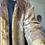 Thumbnail: Cappottino spolverino ruggine/bronzo lana e velluto