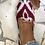 Thumbnail: Mocassini velluto  bianco rosso