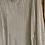 Thumbnail: Blusa a V, maniche sbuffo, plissé avorio oro