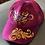 Thumbnail: berretto jocker di velluto fucsia