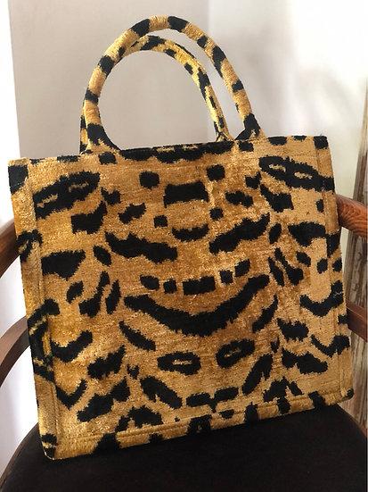 Borsa velluto leopardo(edizione limitata)