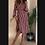 Thumbnail: Vestito a portafoglio lungo, a righe