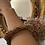 Thumbnail: Bracciale resina rosa tenue dorato