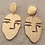 Thumbnail: orecchini faccine placcati oro