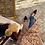 Thumbnail: Gilet doppio petto eco pelliccia mandorla