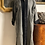 Thumbnail: Cappottino lana nero spigato