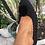 Thumbnail: Pantofole o slippers da casa nere