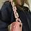 Thumbnail: Borsecchiello velluto catena rosa