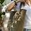 Thumbnail: Borsa shopper riciclata bronzo