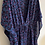 Thumbnail: Caftano corto stampa leopardo blu viola