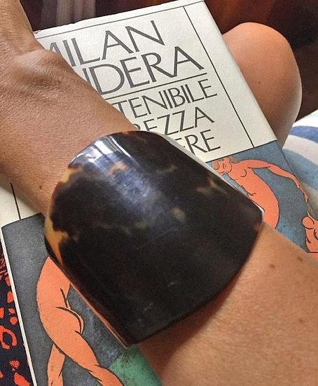 bracciale a fascia simil tartaruga regolabile