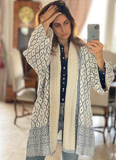 Kimono aperto puro cotone
