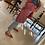 Thumbnail: Casacca kimono fantasia rosso