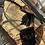 Thumbnail: Borsa grande paglia nera