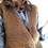 Thumbnail: Gonna, gilet e berrettino lana ocra