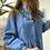 Thumbnail: Camicia jeans pieghine