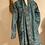 Thumbnail: Maxi cardigan pura lana turchese