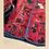 Thumbnail: Giacchino reversibile velluto magenta/blu fantasia