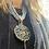 Thumbnail: Collana artigianale grigio perla e fumo