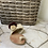 Thumbnail: Ciabattine infradito crochet beige bordeaux