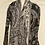 Thumbnail: Maxi cardigan nero/grigio/avorio
