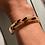Thumbnail: Bracciale resina minimalista tipo tartaruga