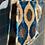 Thumbnail: Borsa velluto blu Royal-avorio-grigio fumo