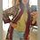 Thumbnail: Cappottino in lana e velluto rosso vino