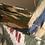 Thumbnail: Tote bag luxury cotone disegni e ricami a mano